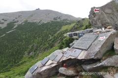 symboliczny cmentarz Ofiar Gór