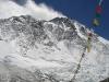 Mount Everest widziany z naszego obozowiska w ABC