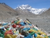 widok na Mount Everest z Obozu Bazowego (od strony Tybetu)