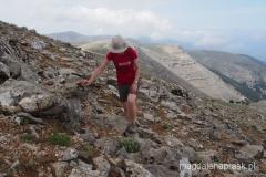 w drodze na szczyt Ataviros