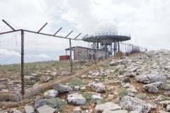 kopuła radaru na szczycie Ataviros