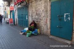 na ulicy w Betlejem