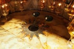 gwiazda w miejscu gdzie narodził się Jezus