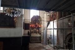 wnętrze Bazyliki Narodzenia Pańskiego