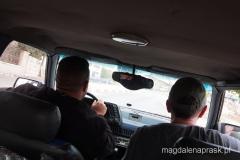 pseudo taksówka pomogła nam wydostać się z Beit Sahour i poojechaliśmy pod Mur Bezpieczeństwa na obrzeża Betlejem