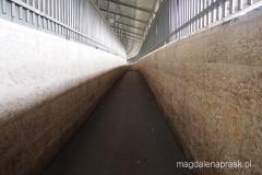 przechodzimy przez Mur Bezpieczeństwa - tunel