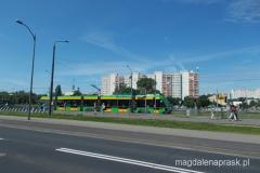pętla tramwajowa na Os. Sobieskiego
