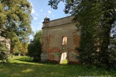 ruiny późnogotyckiego kościoła św. Jana Chrzciciela