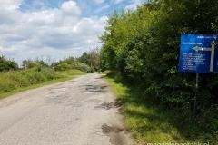 na trasie - mamy jeszcze 3 kilometry do Biedruska