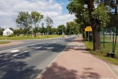 ścieżka rowerowa w Biedrusku