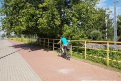 ściezka tramwajowa na ul. Stróżyńskiego