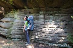 skalny zwierzyniec na żółtym szlaku