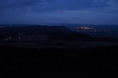 nocne widoki ze Szczelińca