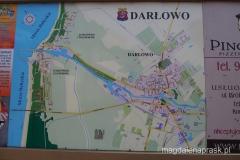 mapa Darłowa