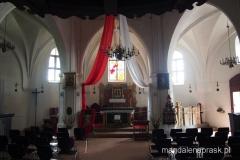wnętrze kaplicy św. Gertrudy