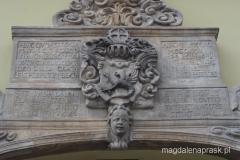 piękny detal na budynku ratusza