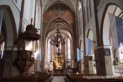 wnętrze kościoła Wniebowzięcia NMP