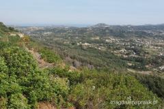 widoki ze szczytu Filerimos - spod krzyża