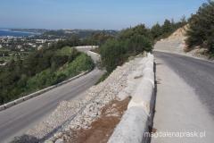 droga wjzadowa na wzgórze Filerimos