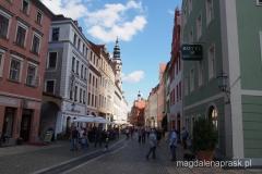 spacerując po mieście