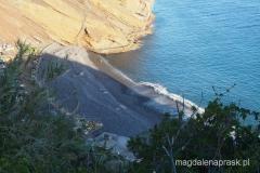 ładna kamienista plaża Praia Ponta de Garaju