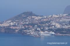 widok na Funchal