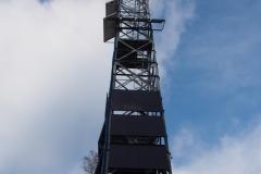 wieża na szczycie Gontyńca