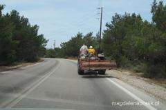 prawdziwa Grecja - na lokalnej drodze