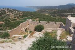 na terenie ruin - piękne widoki dookoła