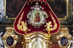 ikona w ołtarzu głównym bazyliki