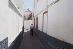 klucząc uliczkami Lindos