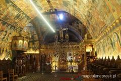 wnętrze kościoła Panagias
