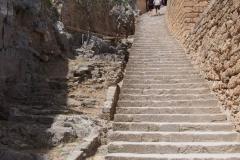 średniowieczne wejście na Akropol