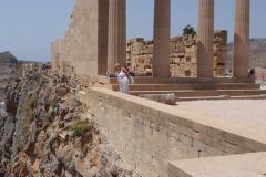 świątynia Ateny Lindos z IVw pne