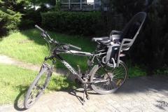 gotowi na przygode - rower w pełni wyposażony