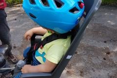 mały pasażer rowerowy