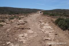 droga prowadząca na wierzchołek wyspy