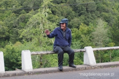 mieszkaniec małej osady Ribeiro Frio