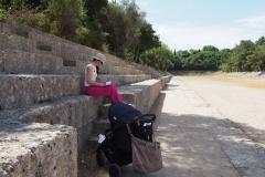 akropol w miescie Rodos