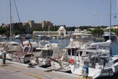 miasto Rodos: port