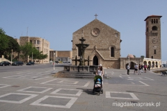 miasto Rodos: katedra