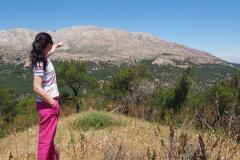 najwyższy szczyt Rodos czyli Attavyros 1.215m npm