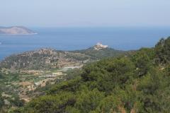 widok na Monolithos