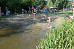 cudna zabawa w wodzie i na plaży