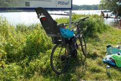 nasz pojazd, fotelik i kas - cały zestaw rowerowy