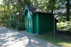 Zielona Budka - zabytkowa przystanek tramwajowy