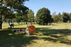 rozbiliśmy nasz namiot w ustronnym miejscu