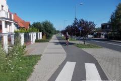 droga rowerowa wzdłuż ul. Strzeszyńskiej