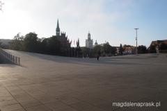 centrum miasta o poranku