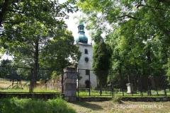 kościół we wsi Pasterka